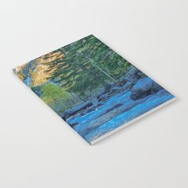 River Bed Sunrise // Long Exposure Landscape Photograph in the Colorado Rocky Mountains Notebook