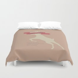 The Deer Hunter, Minimal movie poster, Michael Cimino film, alternative, Christopher Walken, De Niro Duvet Cover