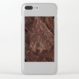 Beef Jerky Clear iPhone Case