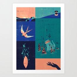 Sarashiva II Art Print
