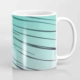 lines blue - elements Coffee Mug
