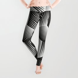 Black And White cuber Leggings