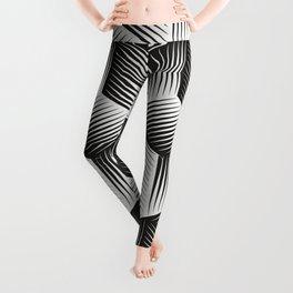 Black And White cuber Leggings