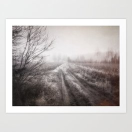 On the contryside Art Print