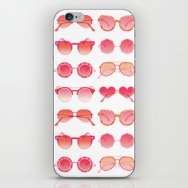 Sunglasses Collection – Pink Ombré Palette iPhone Skin