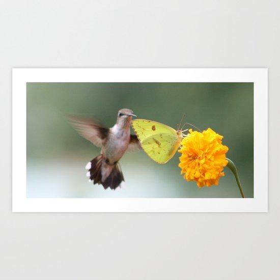 Nectar Queue Art Print