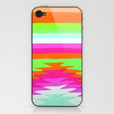 NEON SURF GIRL iPhone & iPod Skin