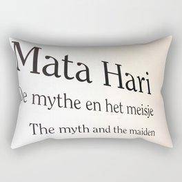 Mata Hari part 2 Rectangular Pillow