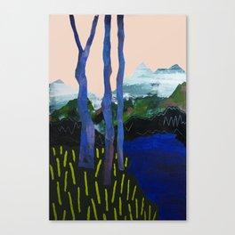 Ultra Blue Lagoon Canvas Print