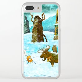 Scott's Tale - January Clear iPhone Case