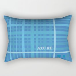Azure Rectangular Pillow