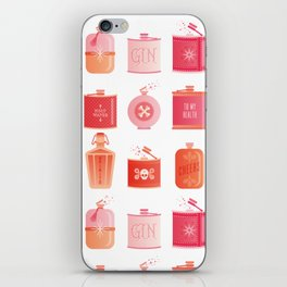 Flask Collection – Pink/Peach Ombré Palette iPhone Skin