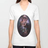 regina mills V-neck T-shirts featuring Mater Regina by YUGO