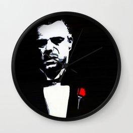 The Godfather: Vito Corleone Wall Clock
