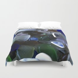 Sea Glass Assortment 4 Duvet Cover