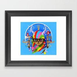 Your disco is Dead 3D Framed Art Print