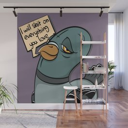 The Bully Pidgeon Wall Mural