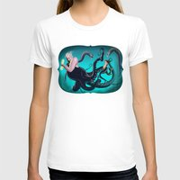 ursula T-shirts featuring Ursula by Jehzbell Black