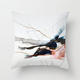 Day 29: A sip, a breath, a smile. [duplicate- hires] Throw Pillow