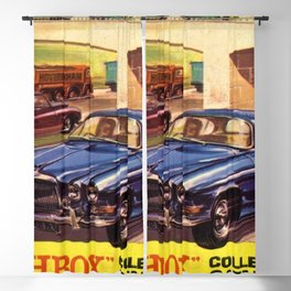 1964 Toy Car Matchbox Collector's Catalog Poster Blackout Curtain