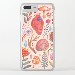 Et coloris natura X Clear iPhone Case