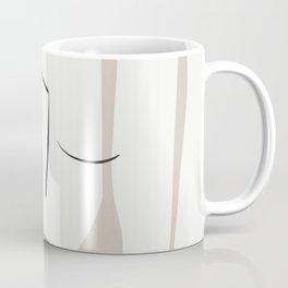 Dreaming Girl Portrait #minimalart Coffee Mug