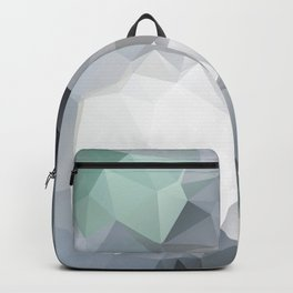Hoppel — low poly art, nature, forest, mountains, landscape, minimalistic ar, home office, living  Backpack