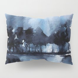 Blue Tree Reflections Pillow Sham
