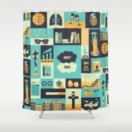 TFiOS Items Shower Curtain