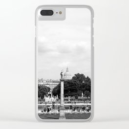 Luxembourg Gardens 12b Clear iPhone Case