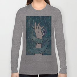 Poseidon's Whales Long Sleeve T-shirt