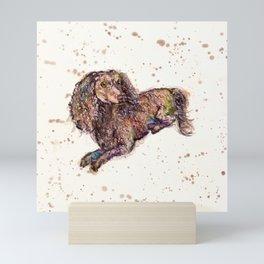 Dachshund Dog Mini Art Print