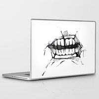 teeth Laptop & iPad Skins featuring Teeth by Tanya_Vazh