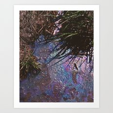Polluted Art Print