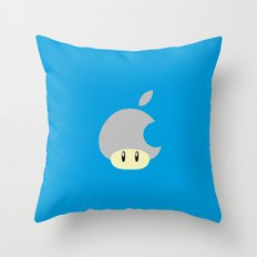 Mushroom apple Throw Pillow