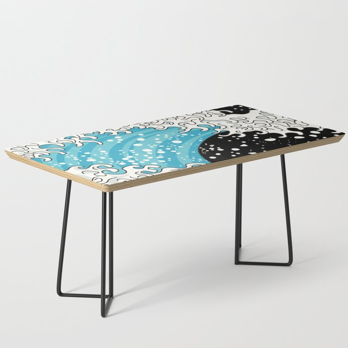 The Great Wave (night version) Coffee Table