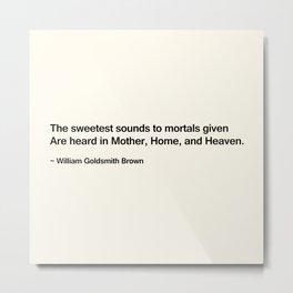 Mothers Day II Metal Print