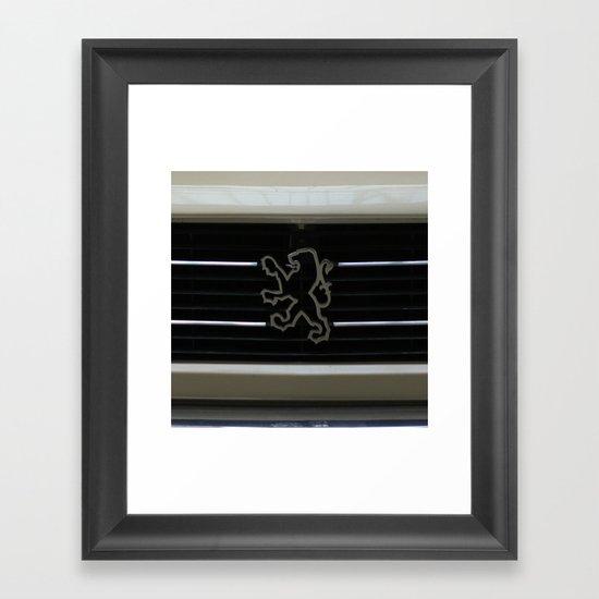 Peugeot Framed Art Print