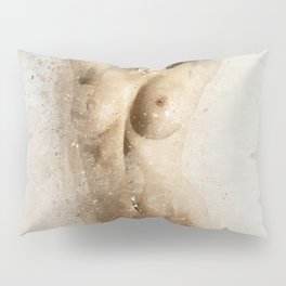 Nude Woman Dancing Pillow Sham