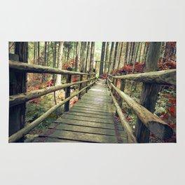 Love, bridge. Rug