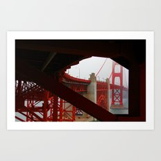 San Francisco Golden Gate Art Print