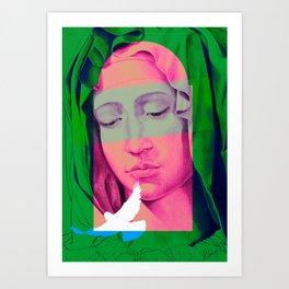 Mary 01 Art Print