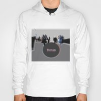 focus Hoodies featuring focus by cubik rubik
