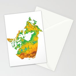 Physically Canada Stationery Cards