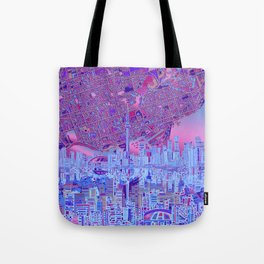 toronto city skyline Tote Bag