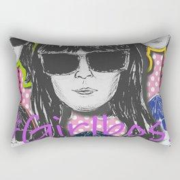(Girl Boss - Britt Robertson) - yks by ofs珊 Rectangular Pillow