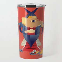 Ganesha: Hindu God of good luck Travel Mug
