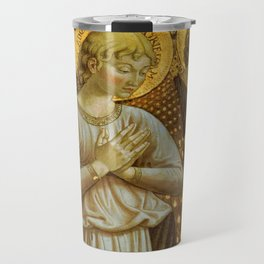 1459 Benozzo Gozoli - Angels (detail) Travel Mug