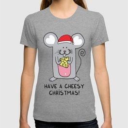 Have a cheesy Christmas T-shirt