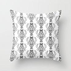 Wolfram & Hart Throw Pillow